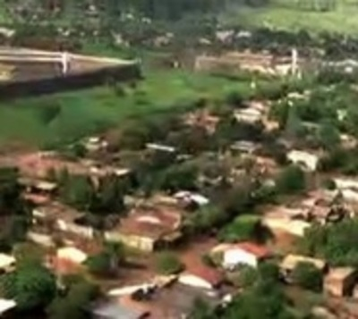 Recorren vía aérea inmediaciones de cárcel de Pedro Juan