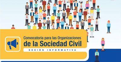 Convocatoria para organizaciones civiles