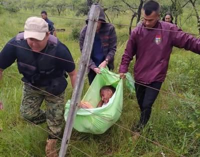 Rescatan a una abuelita que se encontraba extraviada