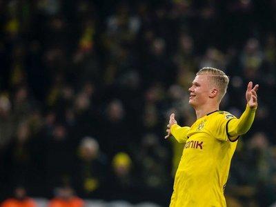 Haaland volvió a aparecer en la victoria del Dortmund ante Colonia