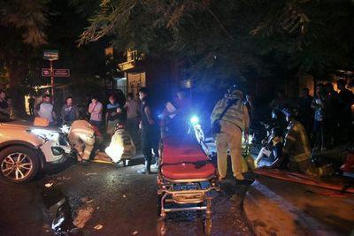 Un joven y un menor en motocicleta fueron arrollados sobre Artigas