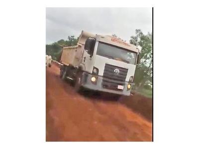 Fiscalía no actúa en caso de camión clonado en Katuete