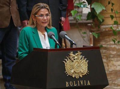 Jeanine Áñez anuncia su candidatura a las elecciones generales en Bolivia