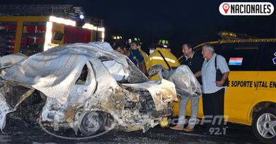 Los dos fallecidos en cuádruple colisión eran roseños
