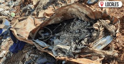 Restos óseos hallados en el vertedero serán analizados por la Fiscalía