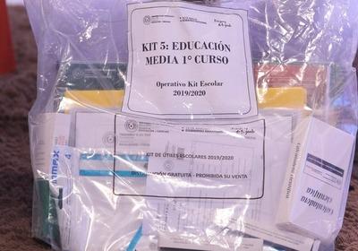 MEC completa el 100% de kits escolares entregados en San Pedro
