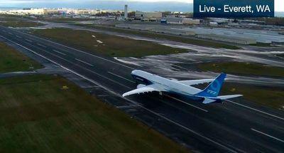 Despega con éxito desde EEUU el Boeing 777X en su vuelo de estreno