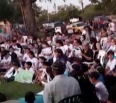 Carapeguá se moviliza pidiendo justicia para Fernando Báez
