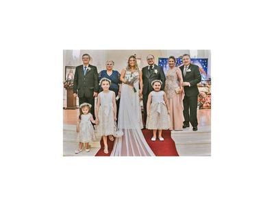 El enlace matrimonial  de Ruth y  Carlos