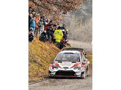 Evans lidera en Montecarlo