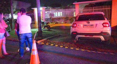 Desconocidos atacaron vivienda del concejal de Amambay Julio Vega