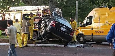 Graves accidentes en Ayolas y San Patricio