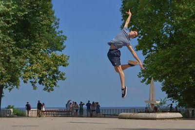 Ballet en la playa San José