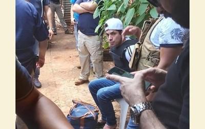 Recapturan a otro reo fugado de prisión de Pedro Juan