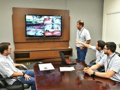 Videovigilancia permite seguimiento de obras del multiviaducto en CDE