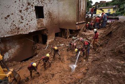 Violentas lluvias dejan 37 muertos y miles de desalojados en el sudeste de Brasil