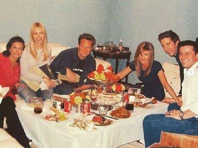 Una foto inédita de la última cena de Friends causa furor en las redes