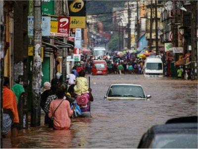 Inundación en Madagascar deja 31 fallecidos