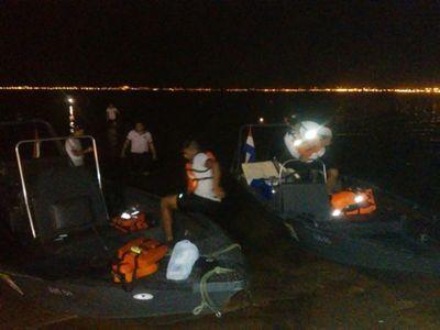 Tres heridos en colisión de yate contra una boya en Encarnación
