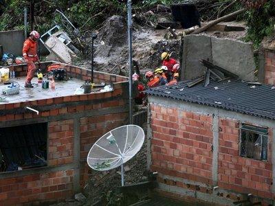 47 ciudades de Brasil en emergencia por temporal que deja 44 muertos