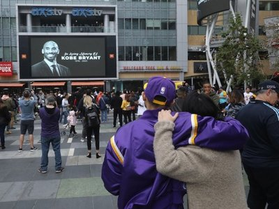 El mundo llora a Kobe Bryant