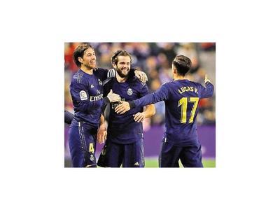 Real Madrid se escapa en la cima