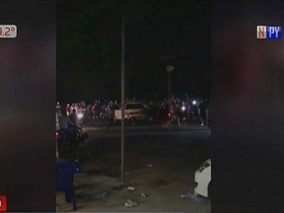 """Agresión de motociclistas: """"Él no se merecía esto"""", dice hermana de víctima"""