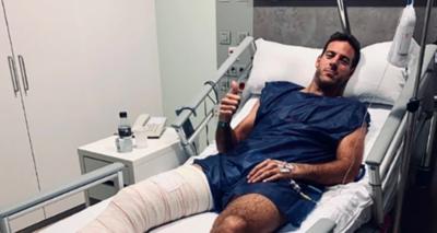 Del Potro será operado  de la rodilla jeyma