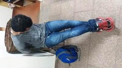 """Un """"descuidista"""" luqueño cae tras robar a pacientes en Hospital de Itauguá •"""