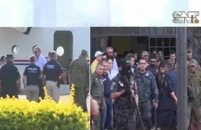 Ministra de Justicia visita el penal de Pedro Juan de Caballero