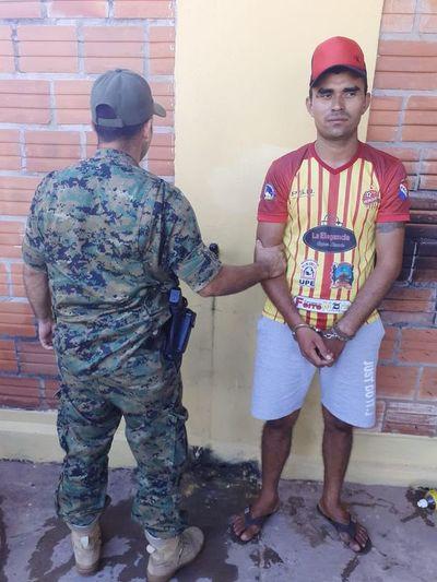 Detienen a un ladrón de celulares en Horqueta