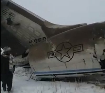 Talibanes afirman que derribaron un avión militar de EE.UU.