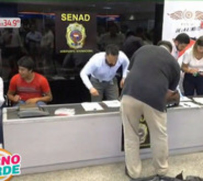 Detectan  2 Kilos 609 gramos de cocaína en Aeropuerto Silvio Pettirosi