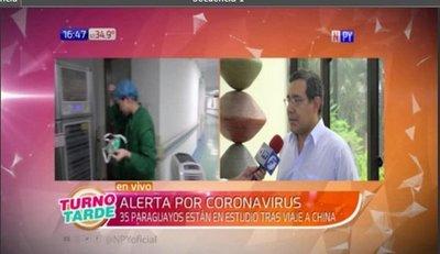 35 paraguayos provenientes de China serán inspeccionados por alerta de coronavirus