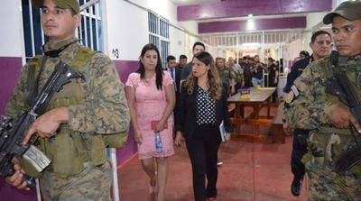 HOY / A una semana de la fuga masiva, ministra de Justicia visita cárcel de Pedro Juan Caballero