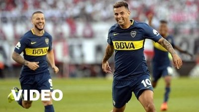 River Plate vs Boca Juniors (1-2) Goles, Resumen, Superliga Argentina