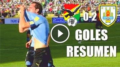 Bolivia vs Uruguay (0-2) Goles Resumen Resultado Eliminatorias Rusia 2018