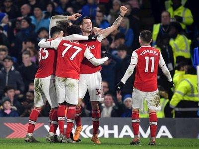 El Arsenal vence al Bournemouth y estará en los octavos de la FA Cup