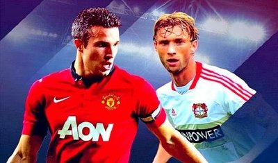 Bayer Leverkusen vs Manchester United 2013 En Vivo Champions League 2013-2014