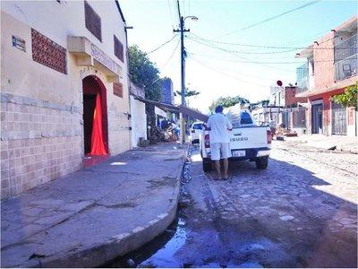 Vehículo de Puertos se usa para trabajos en seccional