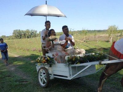 Se casaron después de 50 años de vivir juntos