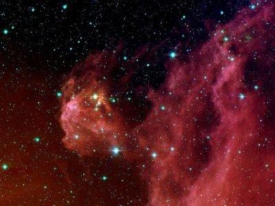 Por tercera vez detectan la explosión de una estrella naciente