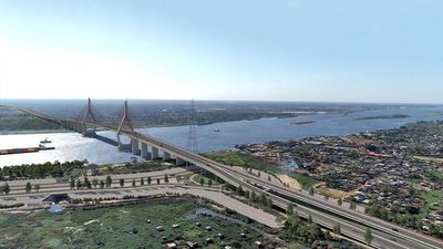 Ratifican que el puente Asunción- Chaco'i se inaugurará en enero del 2023