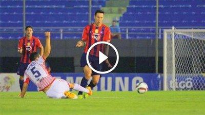 Cerro Porteño vs San Lorenzo (1-0) Goles Resumen Resultado Clausura 2015