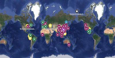 Google Maps muestra el avance en tiempo real del coronavirus en el mundo