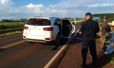 Delincuentes montan falsa barrera policial y roban a empresarios