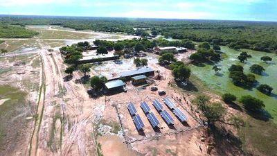 Itaipú impulsó el uso de paneles en el Chaco