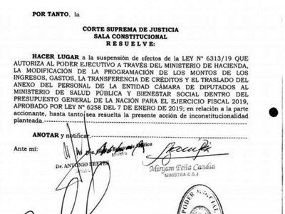 Corte autoriza que ex funcionarios de clínica vip retornen a Diputados