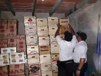Incautan presunto contrabando en Itá Enramada