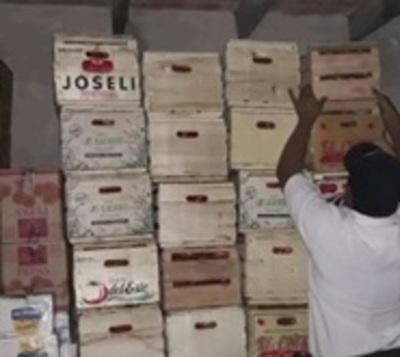 Intervienen depósito con productos que serían de contrabando
